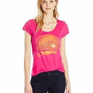 Life is Good Womens T-Shirt Girl Hair Truck Flow